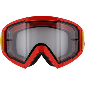 Red Bull SPECT Whip Brille mit Nose Guard weiß/rot